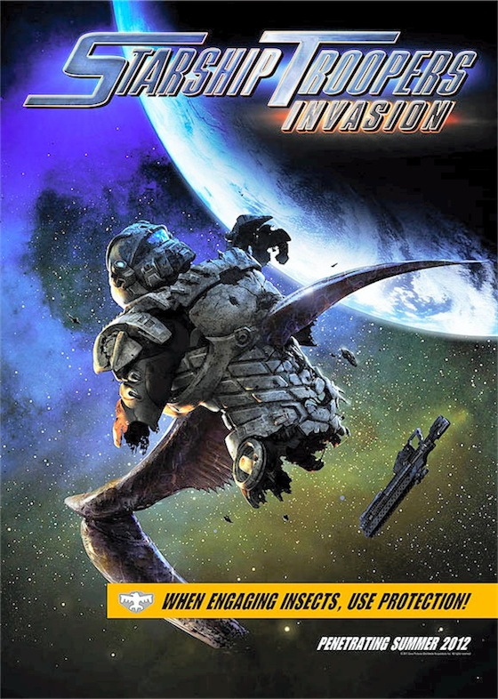 Starship Troopers : Invasion l'affiche