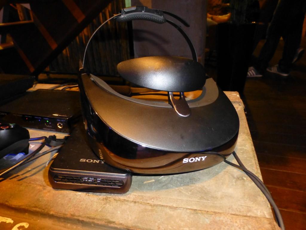 Lunettes de réalité virtuelle Sony