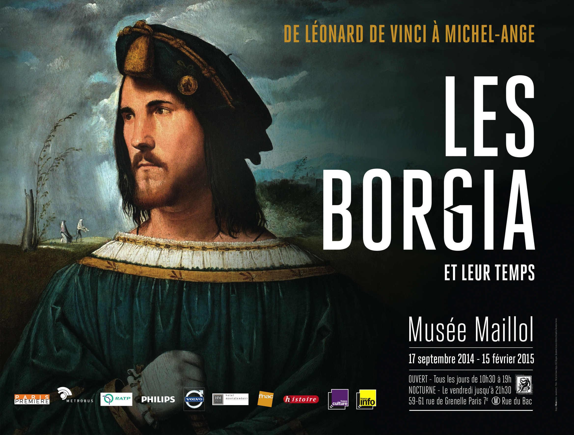 BORGIA affiche 4×3