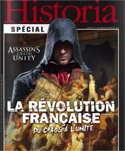 Historia assassin s creed unity