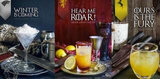7 recettes de cocktails inspirées par Game of Thrones