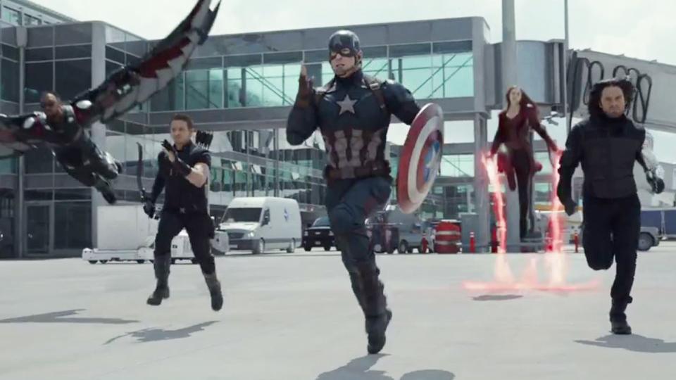La Team Captain America