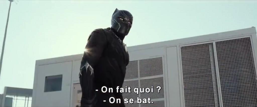 Black Panther, nouveau venu dans le MCU