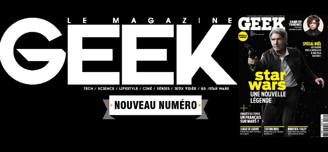 Geek le Mag cover