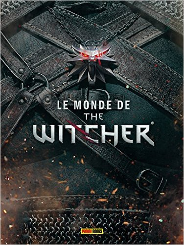 couverture le monde de the witcher