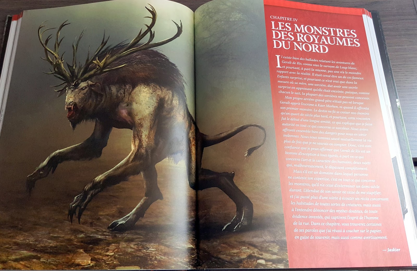 les monstres le monde de the witcher