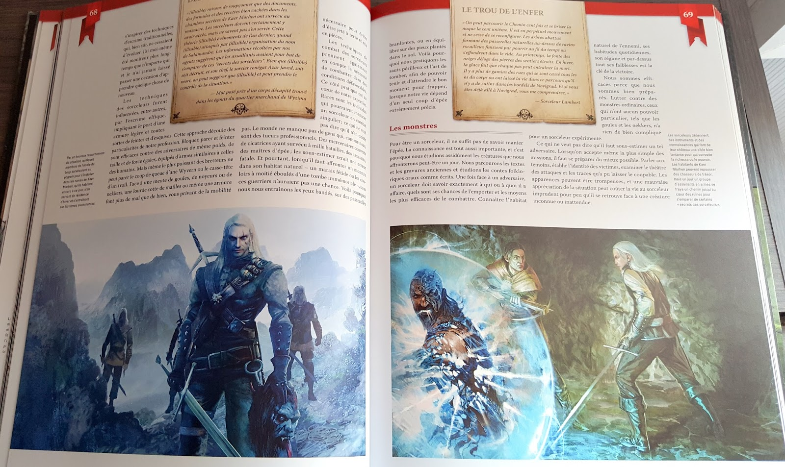 monstres monde de the witcher