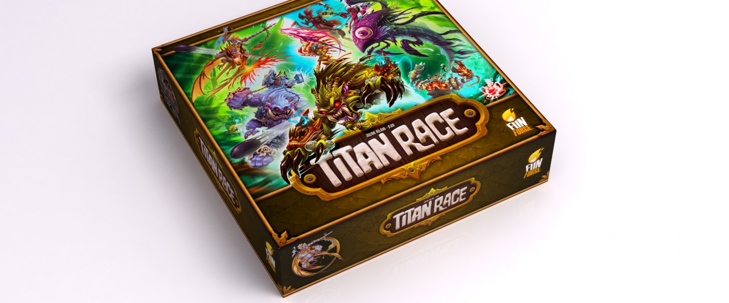 Titan race box kiss my geek