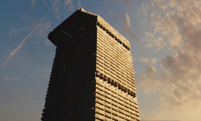 La tour est évidemment l'un des personnages principaux de High-Rise.