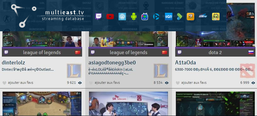 Multicast.tv bannière