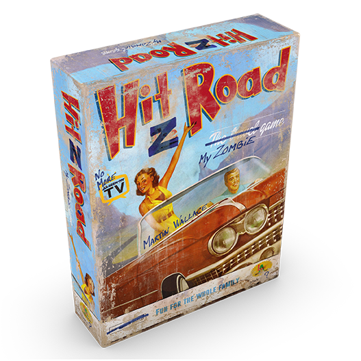 hit the road board game