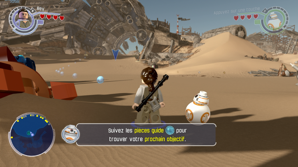 lego star wars the force awakens test