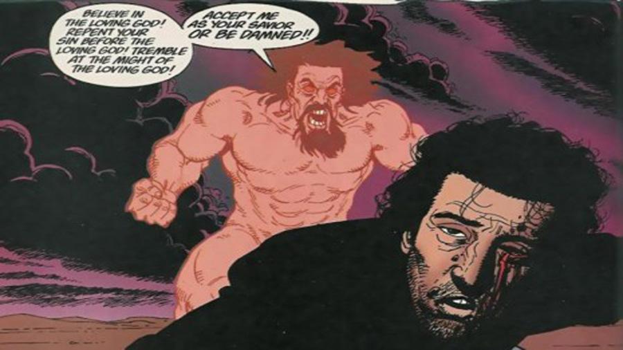 On oublie le Dieu plus qu'imparfait et la quête folle malgré son sens profond du personnage du comic book