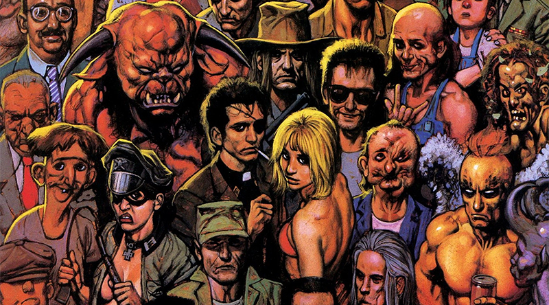 Une galerie de personnage haute en couleur... Et en WTF. Combien en verra-t-on dans la série ?