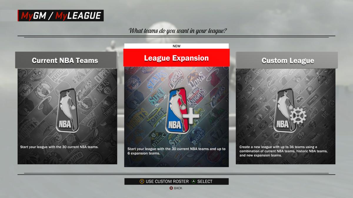 Créer de toute pièce une nouvelle franchise à ajouter à la NBA, c'est tentant, non ?