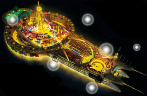 Découvrez Grantesoro, le terrain de jeu de ce 13e film One Piece