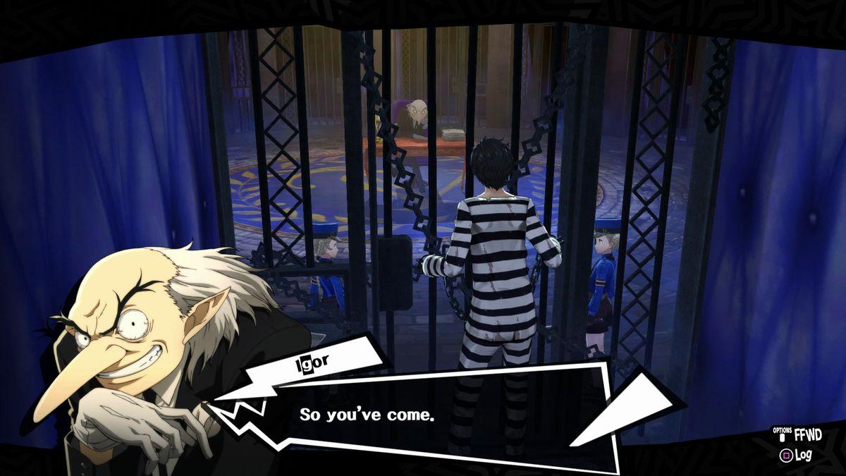 """Votre avatar se voit comme un prisonnier. Du coup, voici ce à quoi ressemble son """"espace personnel""""."""