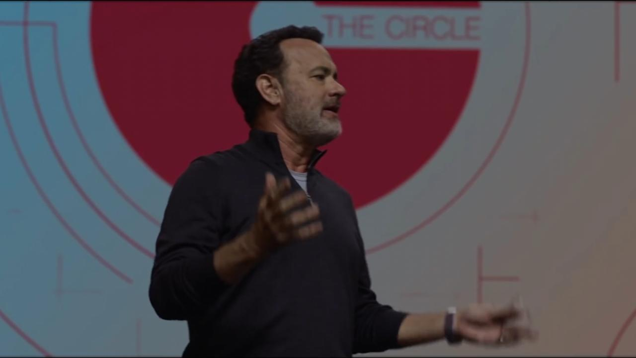 Tom Hanks présentant un TED talk. Enfin ils appellent ça un Dream Friday...
