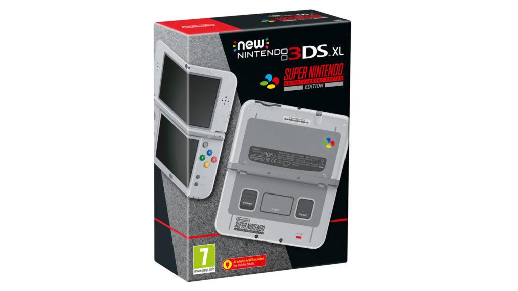 3DS XL SNES