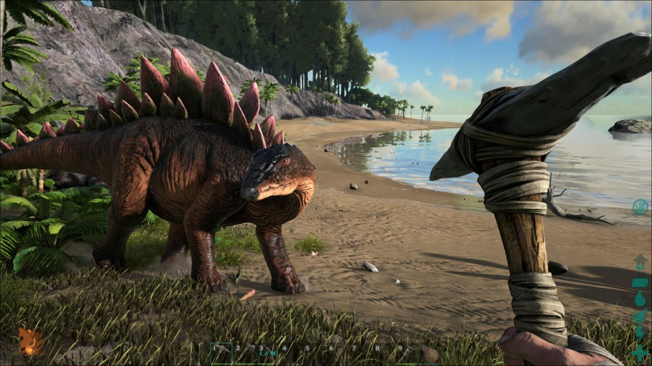 ark survival evolved test