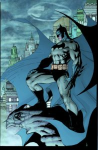 Batman prend un petit air de Spawn sur cet artwork