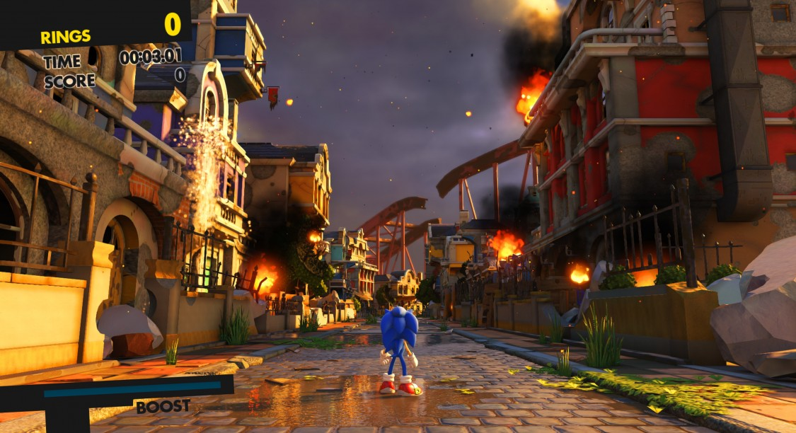 Sonic Forces Test