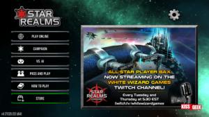 L'application Star Realms propose plusieurs modes de jeux. Manque que le scorer pour la partie physique :P