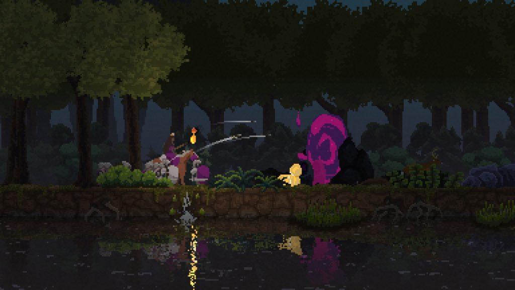 Recruter des chevaliers permet de lancer des raids contre les portails d'où surgissent les ennemis.
