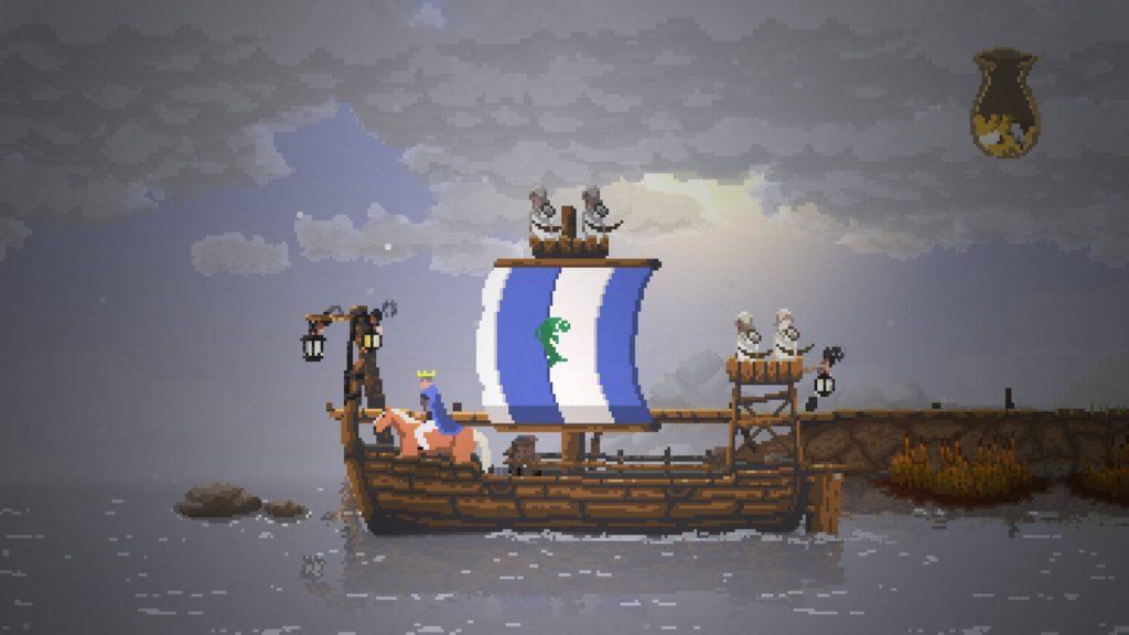 Une fois votre navire construit, il faudra attendre que vos sbires le mènent jusqu'à un embarcadère avant de pouvoir décamper.