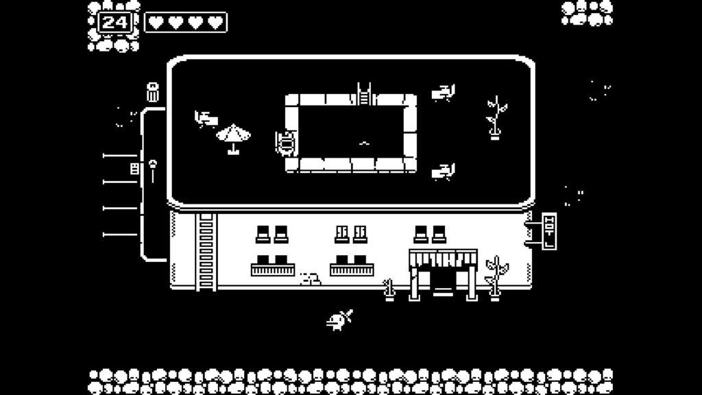 Hôtel délabré, caravane, maisonnette : plusieurs nids douillets jouent le rôle de points de chute au sein d'un monde hostile