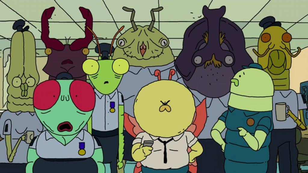 Le bestiaire... Enfin je veux dire la galerie de personnages est assez colorée !