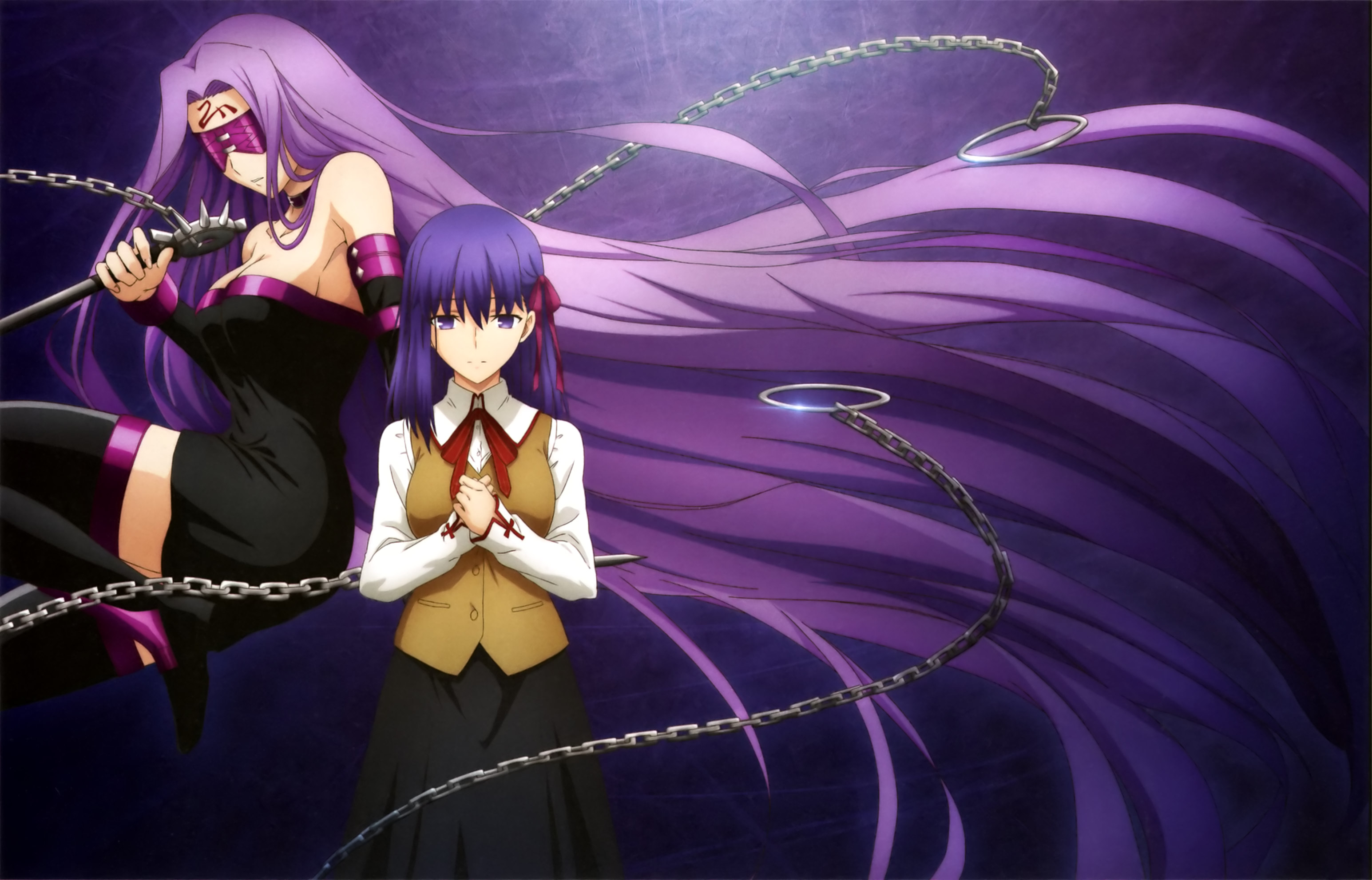 La relation entre Rider et Sakura sera centrale à cet arc