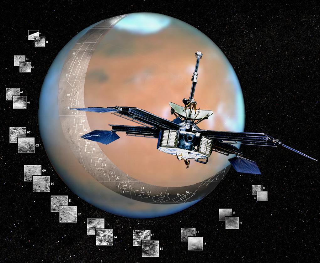 Les 21 images prises par la sonde Mariner 4 ne montrent aucune trace de canal. La vision de Schiaparelli prend fin en 1965.