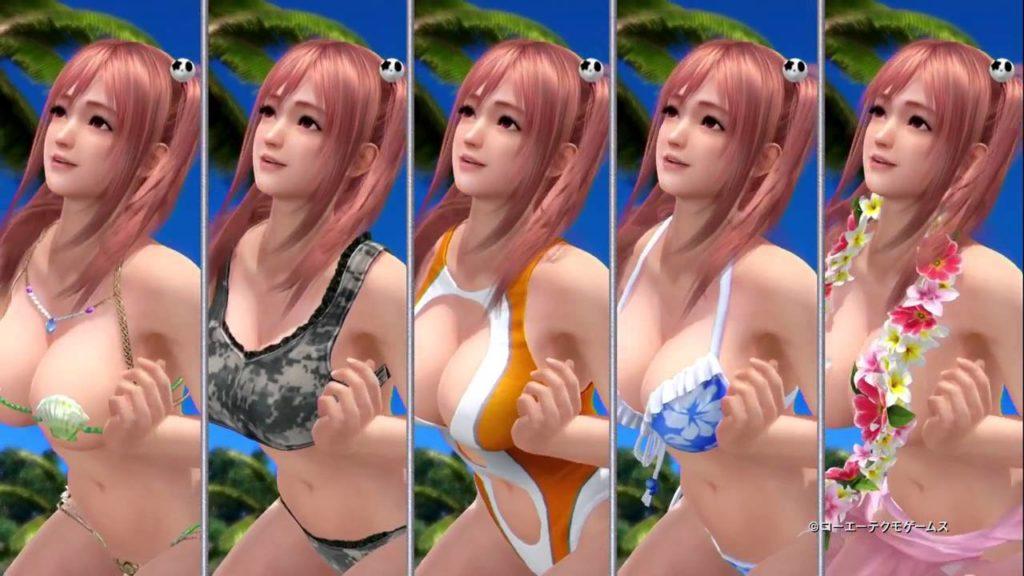 Dead or Alive Xtreme Beach Volleyball est l'exemple extrême d'hypersexualisation des personnages féminins dans le jeu vidéo.