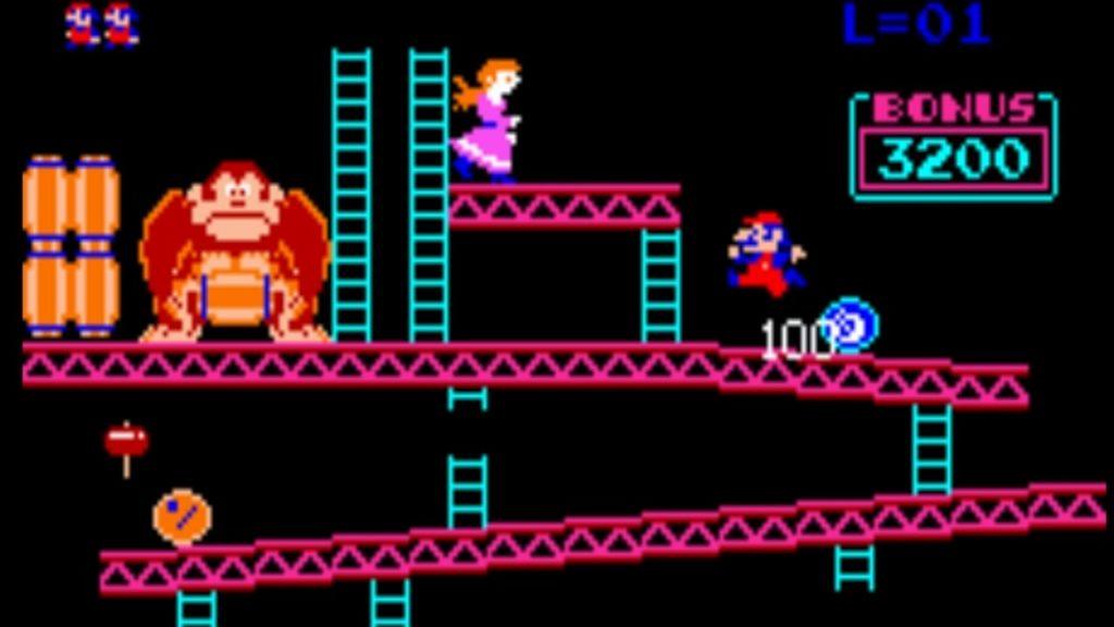 Le rôle du personnage féminin est souvent celui de la demoiselle en détresse, comme dans Donkey Kong en 1981.