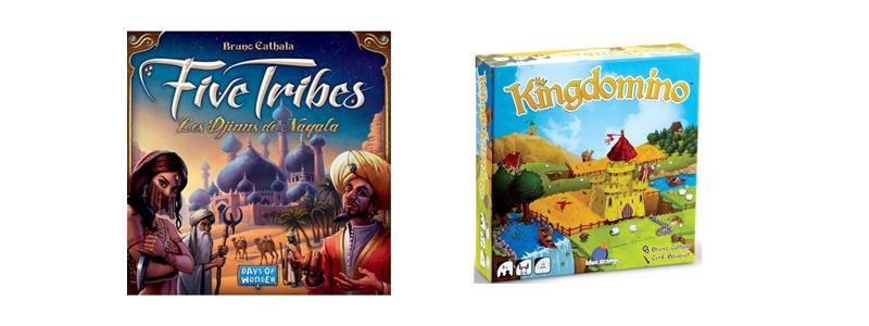 Five Tribes et Kingdomino : deux jeux pour découvrir Bruno Cathala