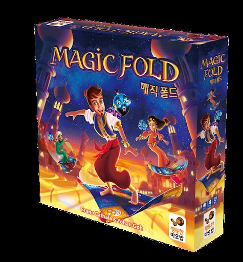 Boite coréenne de Magic Fold
