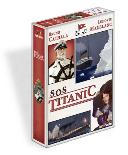 La boîte du jeu SOS Titanic, de Bruno Cathala et Ludovic Maublanc