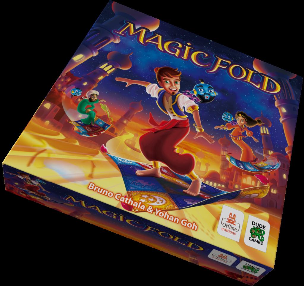 Boîte du jeu Magic Fold