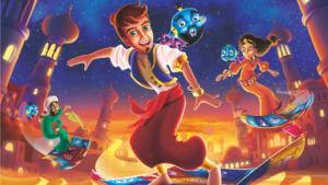 Illustration de Magic Fold, un jeu de Bruno Cathala et Yohan Goh