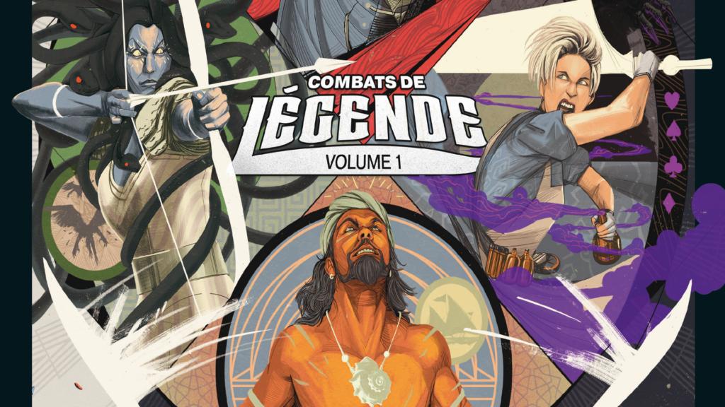 Boîte du jeu Unmatched Combat de Légende Volume 1
