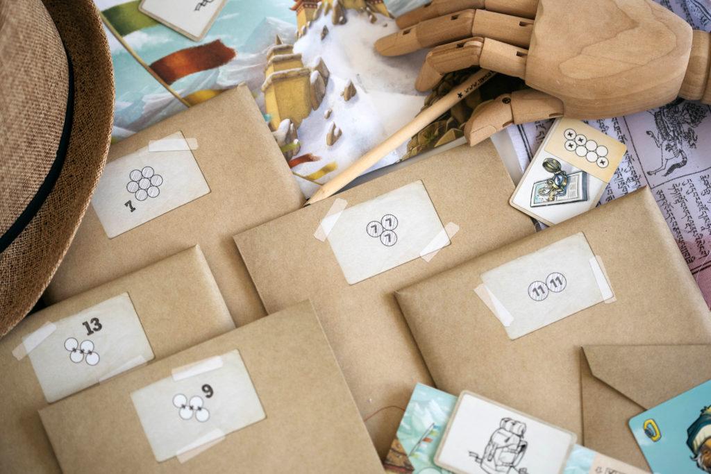Les enveloppes de Trek 12