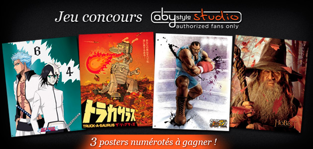 Concours ABYstyle