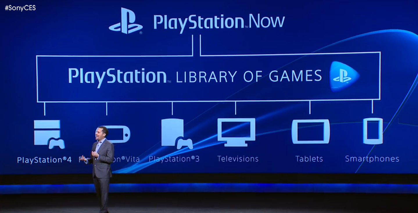 PS Now Stage