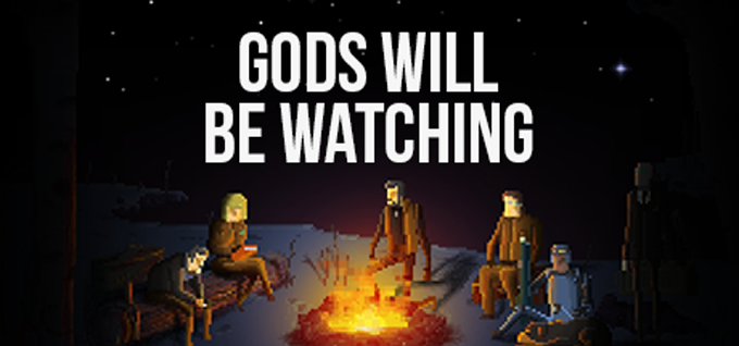 Gods Will Be Watching - Key Art