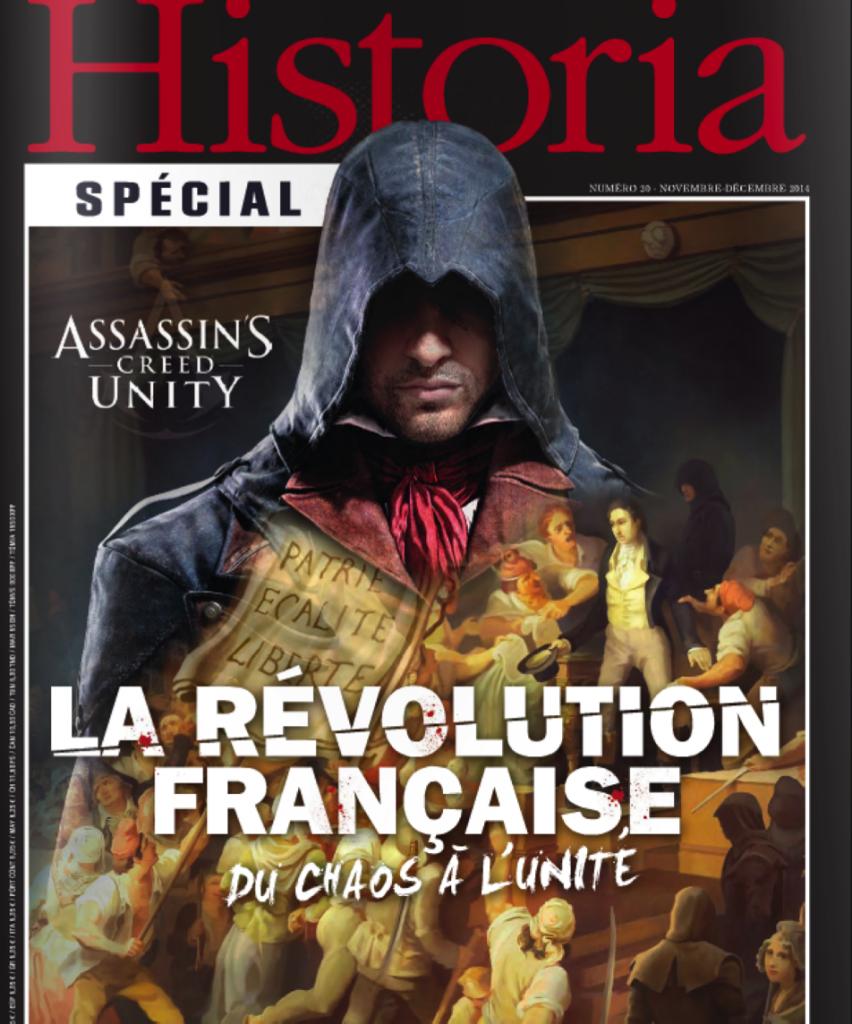 Historia assassin s creed unity