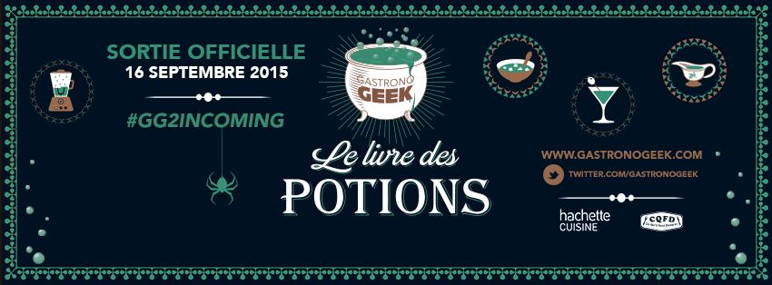 Gastronogeek – Le livre des potions image à la une