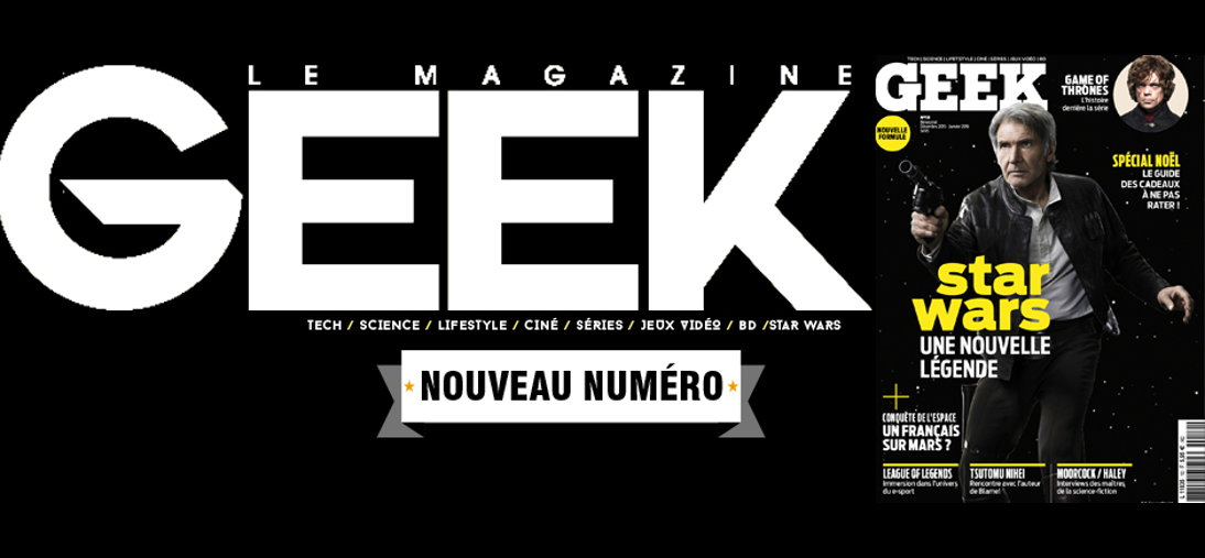 Geek le Mag cover