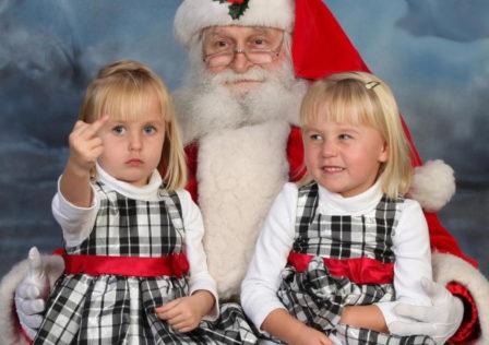 Santa fail